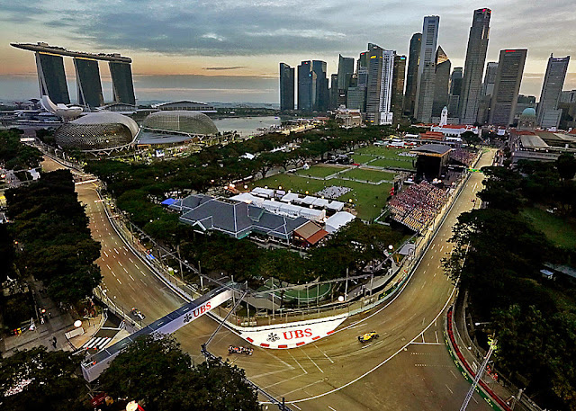f1 Singapore the marina bay booking ticket