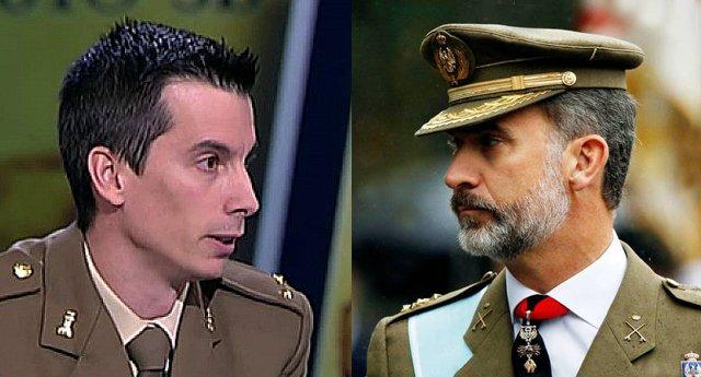 El contundente mensaje del exteniente Luis Gonzalo Segura a Felipe VI