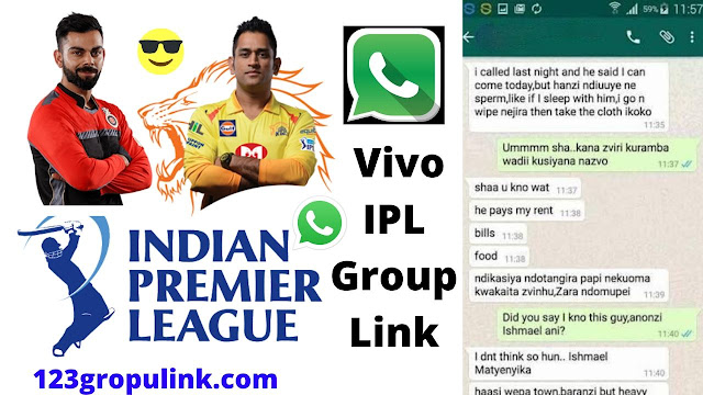 Join 700+ Vivo IPL Whatsapp Group Link 2020