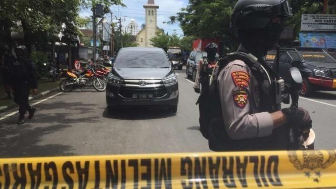 Pendeta Katedral Makassar: Pengebom Sempat Ingin Masuk ke Gereja
