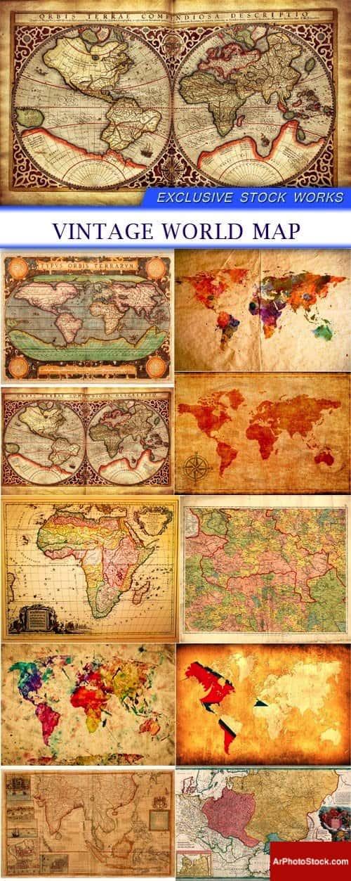 تحميل 10 صور لخرائط العالم قديماً بجودة عالية