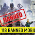 Full list of the 118 Chinese mobile apps banned by Govt of India