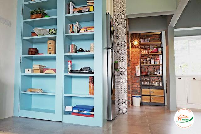Tối ưu hóa nội thất phòng khách với kệ sách