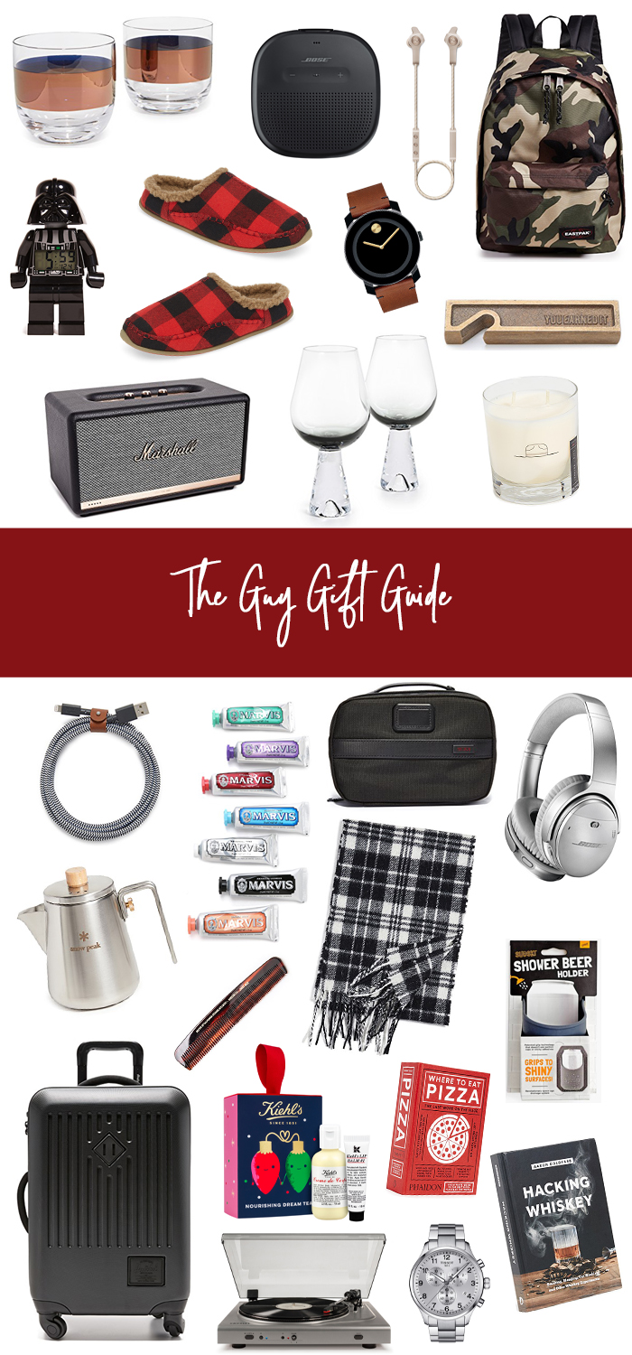 the guy gift guide