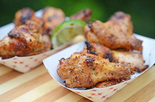 Cilantro Lime Wings with Habanero Butter Sunshine State Eggfest