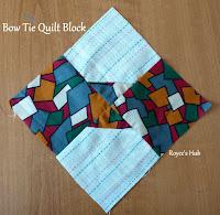 http://roycedavids.blogspot.ae/2016/01/bow-tie-quilt-block.html