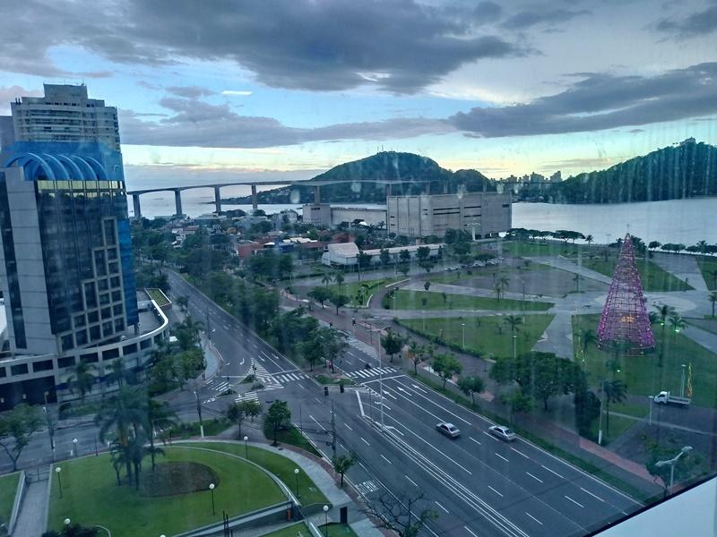 Vista da cidade Vitória Espírito Santo