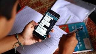Dilema Belajar Online, Beli Beras Saja Susah, Gimana Mau Beli Kuota