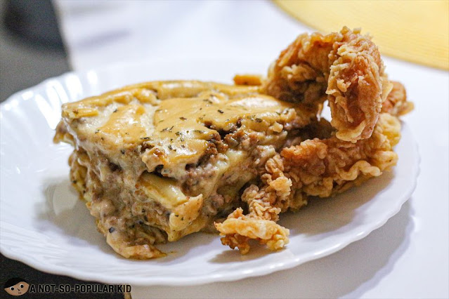 Bhest Lasagna and Chicken Combo