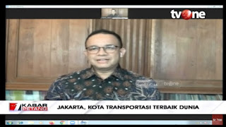 Banyak yang Ngaku, Anies: Penghargaan Ini Adalah Hasil Dari Penilaian Jakarta 1 Tahun Terakhir