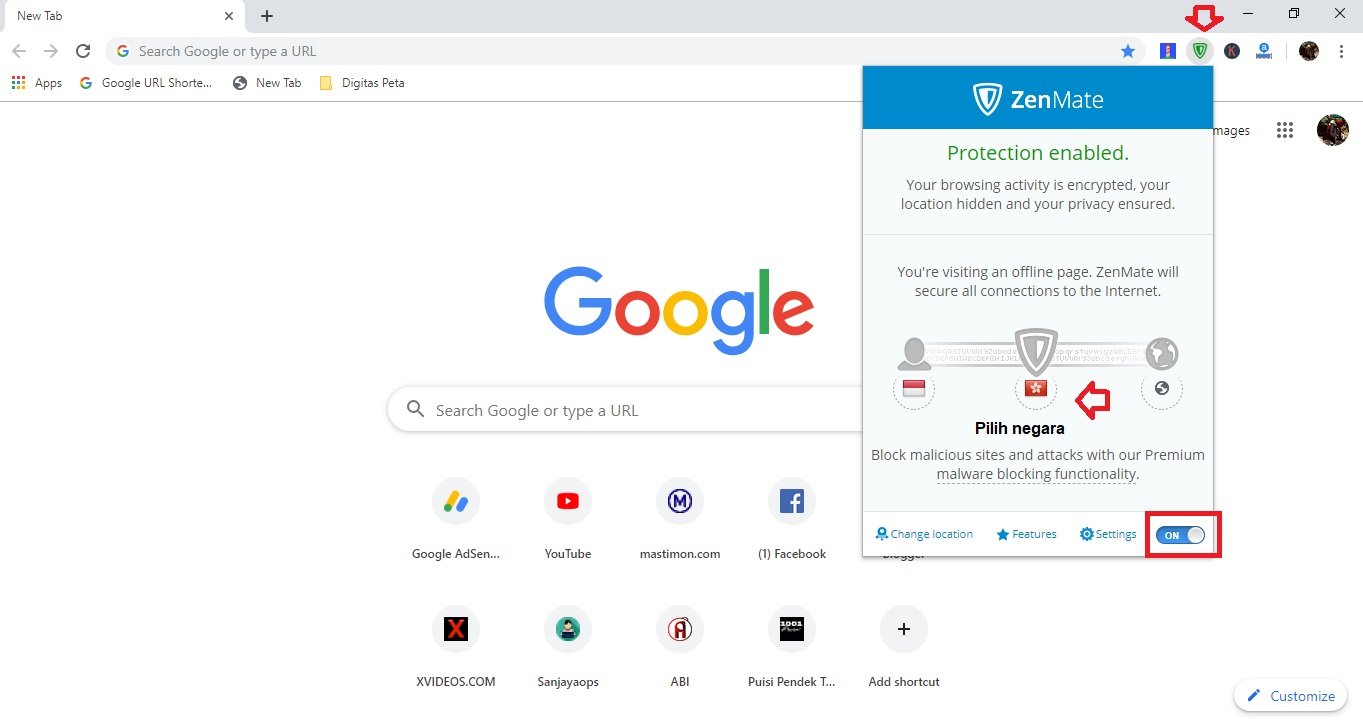 Cara Pasang Dan Gunakan Vpn Google Chrome Di Laptop Ato Menulis