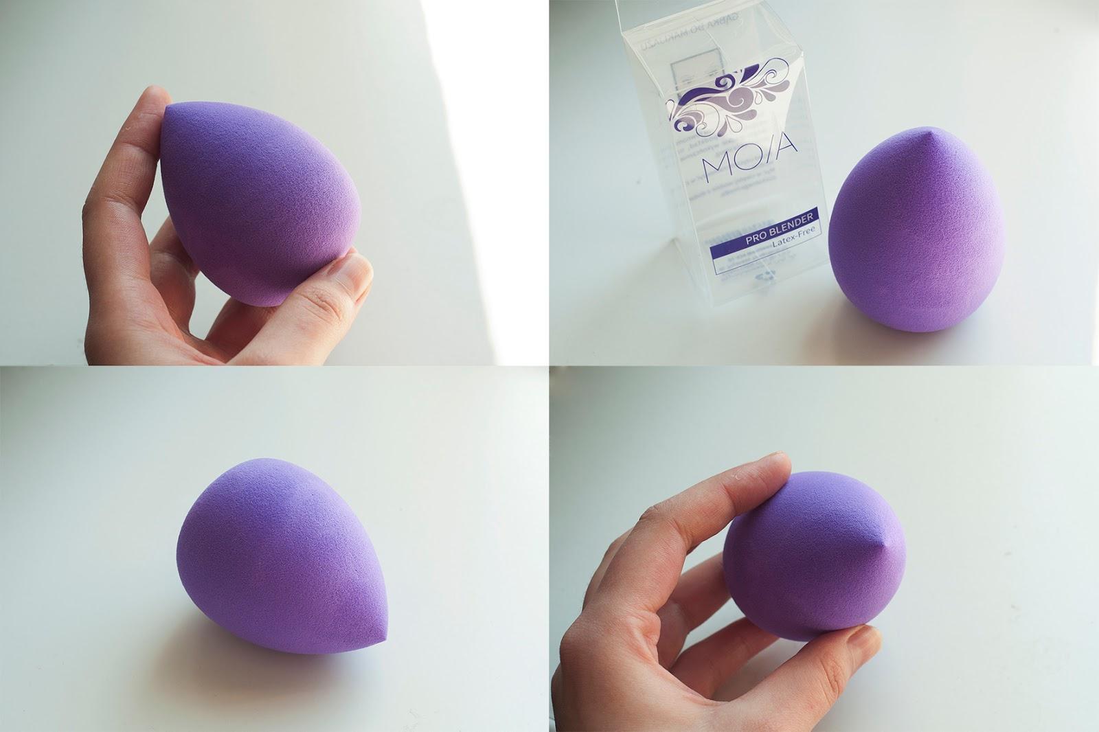 fioletowa gabka kontigo