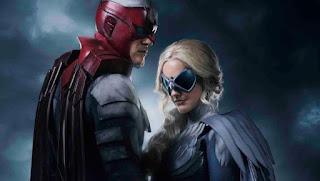 titans: nueva imagen del set con hawk y dove