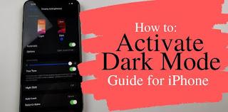 كيفية, تفعيل, وتشغيل, الوضع, الداكن, (Dark ,Mode), على, أجهزة, اي, فون, / اي, باد