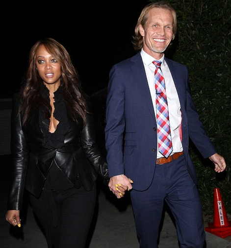 Photos: Tyra Banks Steps Out With Norwegian Boyfriend Erik ...