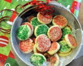 December - No-Roll Christmas Sugar Cookies