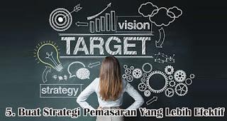 Buat Strategi Pemasaran Yang Lebih Efektif merupakan salah satu cara untuk menghadapi perubahan perilaku konsumen selama pandemi