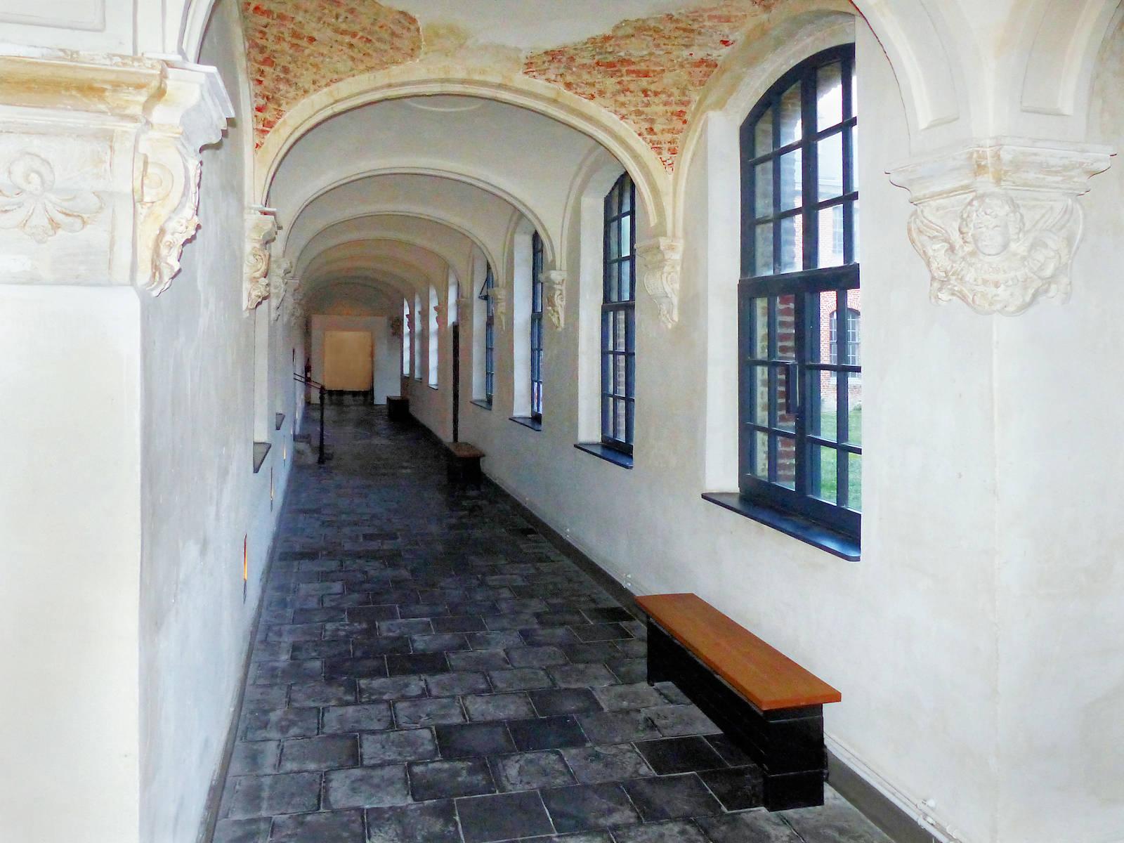 Galerie de l'aile du réfectoire