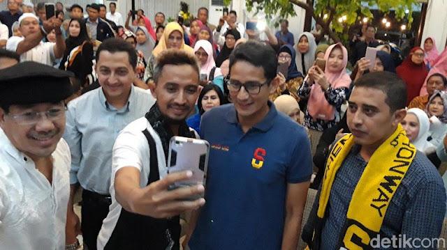 Sandi: Nabi Yusuf Butuh Waktu 7 Tahun, Saya Cukup 3 Tahun Pulihkan Ekonomi Indonesia