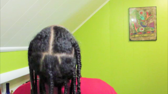 I Am Rallygirl Easy Braids Beads Natural Hairstyle For The Lazy Natural