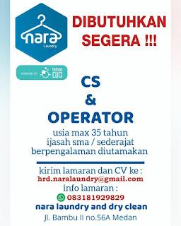 Operator dan CS Nara Laundry