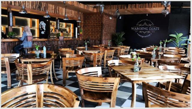 Waroeng Djati;10 Tempat Kuliner Populer di Madura;