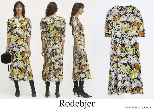 Crown Princess Victoria wore Rodebjer Dizzy Dress