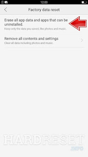 how to hard reset oppo a5 without password