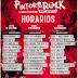 POR FIN CONOCEMOS LOS HORARIOS PARA EL PINTOR ROCK 2019
