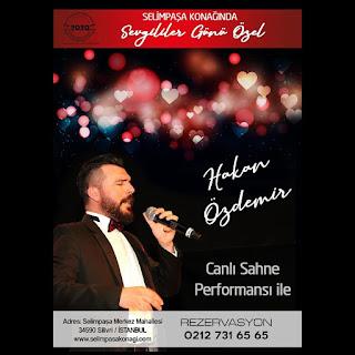 Hotel Selimpaşa Konağı İstanbul Sevgililer Günü Menüsü 2020
