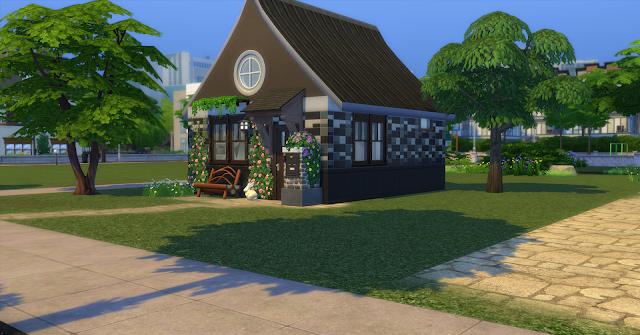 Стартовый домик 1 для Sims 4 со ссылкой для скачивания