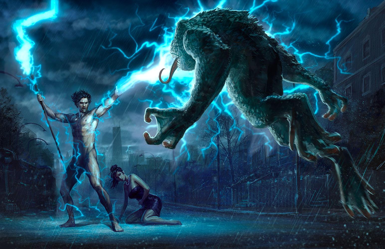 - CHARRO - fantasy illustrator: The Dresden Files: Your ...