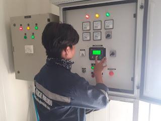 harga jasa service panel ats amf genset area tangerang