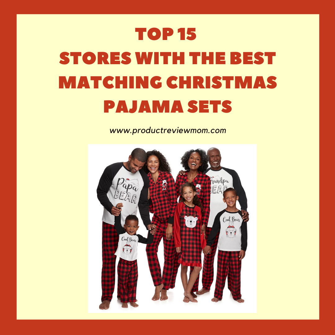 Top 15 Stores with the Best Matching Christmas Pajama Sets