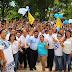 Freddy Ruz recorre Umán acompañado por cientos de ciudadanos