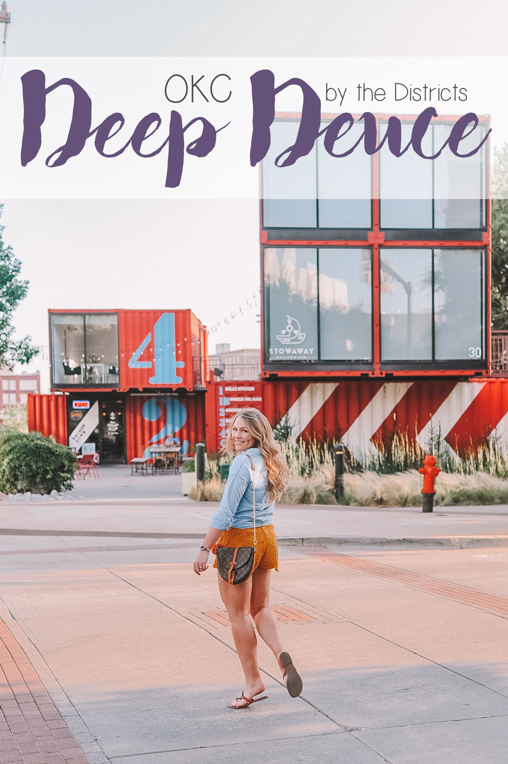 OKC Blogger Amanda Martin shares her guide to the Deep Deuce District of Oklahoma City