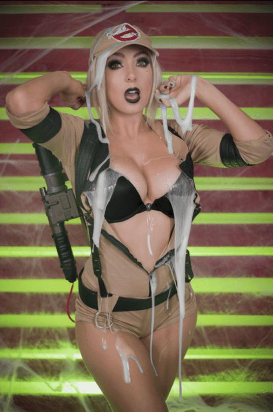 cosplay girls, Jessica Nigri, big boobs