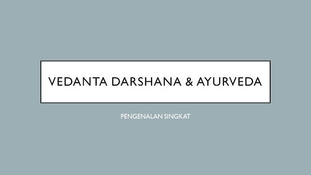 vedanta darshana