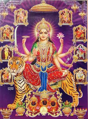 നവദുർഗ്ഗ ദുർഗ്ഗയുടെ ഒൻപത് ഭാവങ്ങൾ Navadurga Nine forms Malayalam