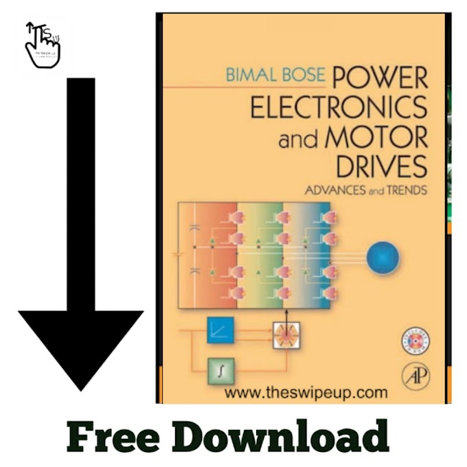 Free Download PDF Of Power Electronics and Motor Drives By Bimal K. Bose