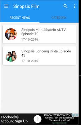 Baca Sinopsis dari Aplikasi Android