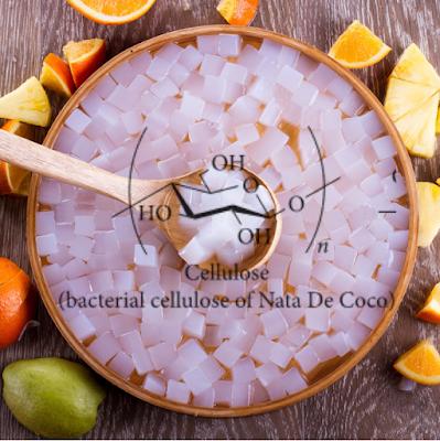 rumus kimia nata de coco selulosa