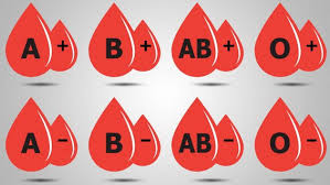 أنواع فصائل الدم