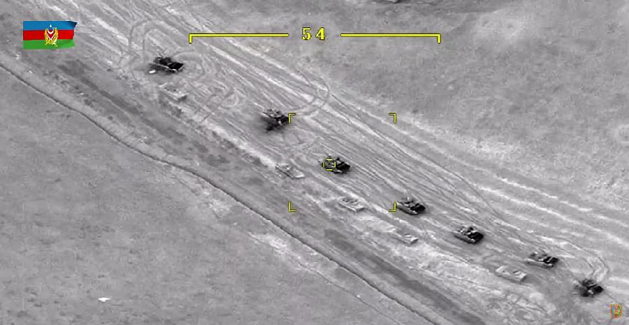 Потери техники сторон в нынешней Карабахской войне