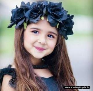 Cute Baby Girl Whatsapp DP