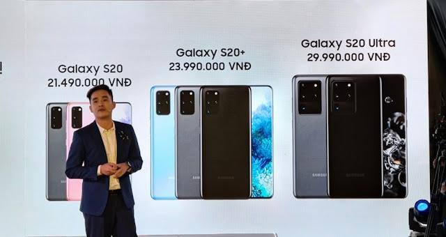 Chính thức bộ 3 Samsung S20 Series ra mắt tại thị trường Việt giá rẻ hơn dự kiến