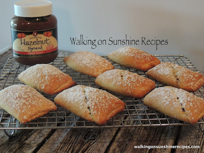Nutella Crescent Rolls from Walking on Sunshine Recipes