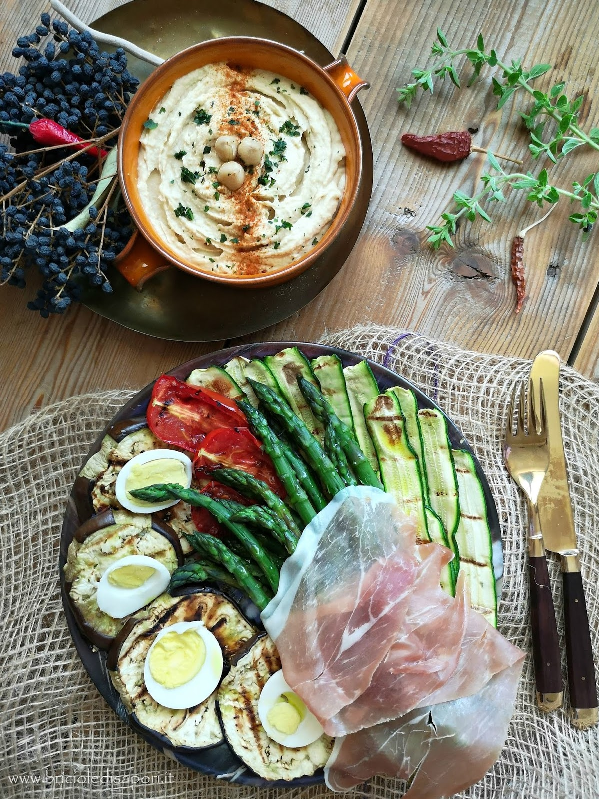 ricetta estiva con verdure miste