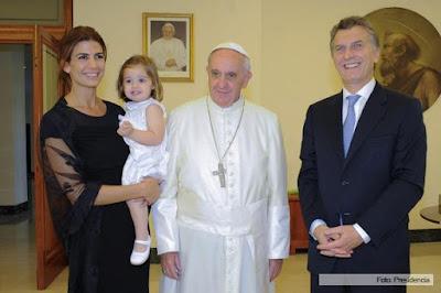 Francisco y Mauricio Macri