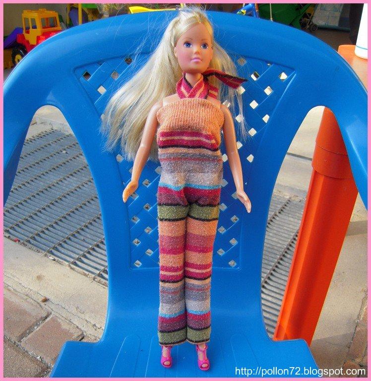 Molto Mamma Claudia e le avventure del Topastro: Vestiti per Barbie e Ken DR69